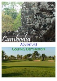 Cambodia Tee-Off Service - Golf in Thailand, Golf in Chiang Mai