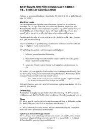 Kommunala bidragsregler, 30 kB - Ängelholms kommun