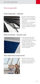 Profi Partner Profi gyártja – Profi adja el – Profi építi be - Roto - Page 7
