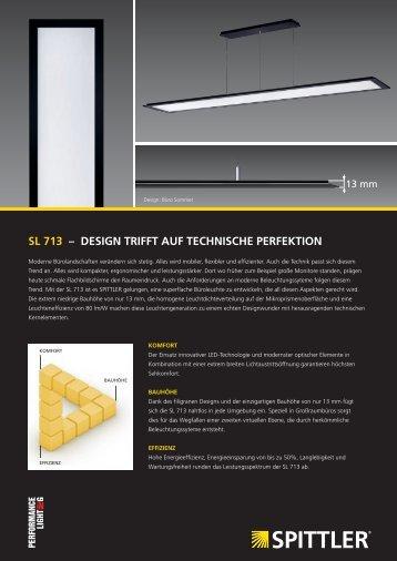 SL 713 – DeSign trifft auf techniSche Perfektion - mabalux