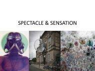 SPECTACLE & SENSATION web version