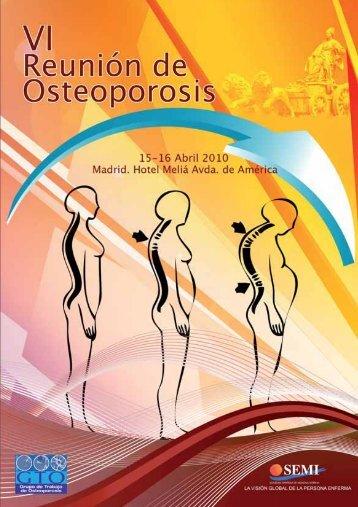 VI Reunión de Osteoporosis - Sociedad Española de Medicina Interna