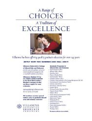 Your Alumni Association - Villanova University