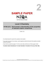 Chemistry 91165 (2.5) Exam
