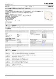 EY-SU306 ecoUnit306: Push-button unit for room control unit