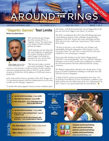 London Latest - Issue 1 - Around the Rings
