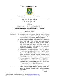BERITA DAERAH KOTA CILEGON - Mahkamah Konstitusi RI