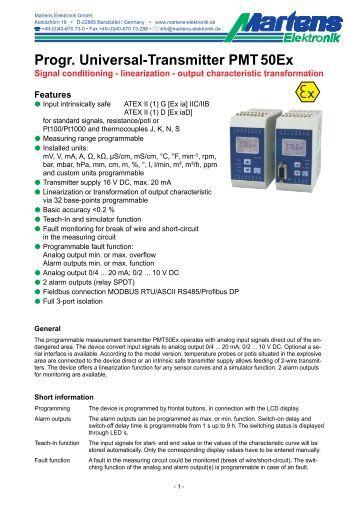 PMT50Ex-V2_0-00- Prospekt - Martens Elektronik GmbH