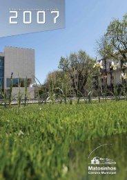 Relatório de Atividades e de Gestão 2007 - Câmara Municipal de ...