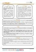 / L'ITALIE / - ILE-DE-FRANCE INTERNATIONAL - Page 3