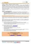 / L'ITALIE / - ILE-DE-FRANCE INTERNATIONAL - Page 6