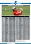 The Top Ten in The Race to Dubai Next Event on ... - European Tour - Page 7