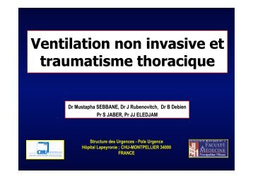 VNI-Trauma Thoracique V2 010409Final - SMUR BMPM