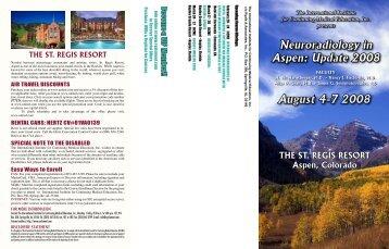 Brochure (PDF) - ESR - Congress Calendar