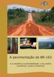 A pavimentação da BR-163 e os desafios à sustentabilidade - IEB