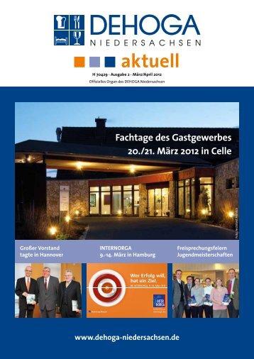 DEHOGA Magazin Nr. 2 März/April 2012 - DEHOGA Niedersachsen