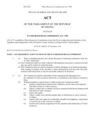 Water Resource Commission_Act_522, 1996 .pdf - RSPO in Ghana