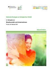 Dokumentation des 2. Dialogforums - Global Nature Fund