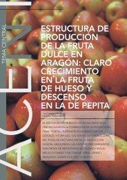 estructura de producción de la fruta dulce en ... - Cortes de Aragón