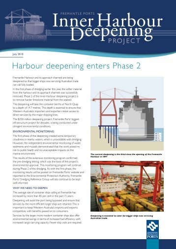 IHD Newsletter July 2010 - Fremantle Ports