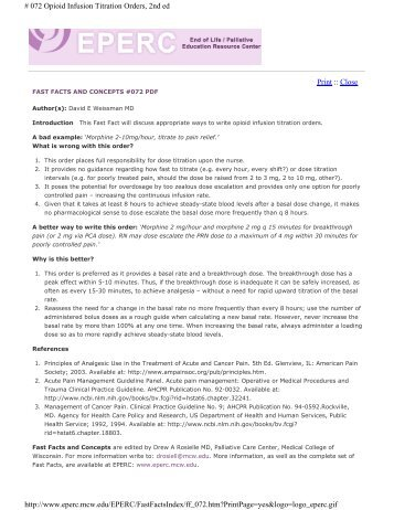 fast facts and concepts #072 pdf - Medical College of Wisconsin