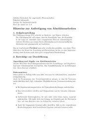 Hinweise zur Anfertigung von Abschlussarbeiten - Public.fh ...