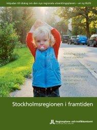 Stockholmsregionen i framtiden