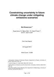 Niel Bowerman (transfer report) - University of Oxford Department of ...