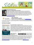 State of the Arts Newsletter City of Ventura Office of Cultural Affairs ... - Page 3