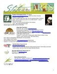 State of the Arts Newsletter City of Ventura Office of Cultural Affairs ... - Page 4