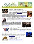 State of the Arts Newsletter City of Ventura Office of Cultural Affairs ... - Page 7