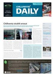 Chillventa Daily - auf der Chillventa
