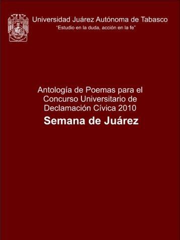 Presencia de Juárez en la patria