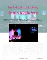 Maximizes Its Display System - Digital Projection