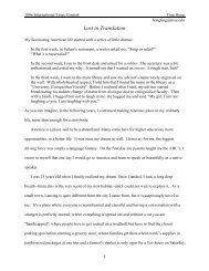"""Lost in Translation"" (PDF)"
