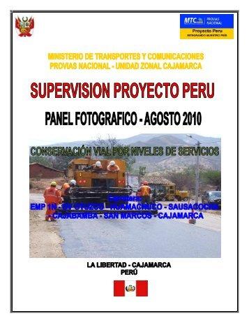 14 Fotos - Agosto 2010 Haga clic para descargar ... - Provias Nacional