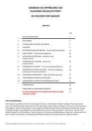 Diagnose og oppfølging ved Duchenne muskeldystrofi ... - Treat-NMD