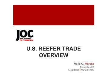 Mario Moreno, Economist, The Journal of Commerce
