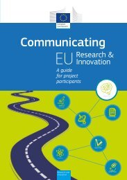 Communicating EU Research & Innovation - A guide for project ...