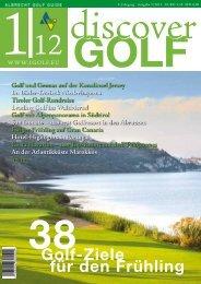 38 Golf-Ziele für den Frühling - 1Golf.eu