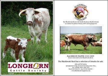 News 80 July - Longhorn Cattle Society