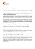 Minutes from the question and answer conference call - Page 3