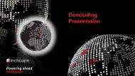 Concluding Presentation - Inchcape