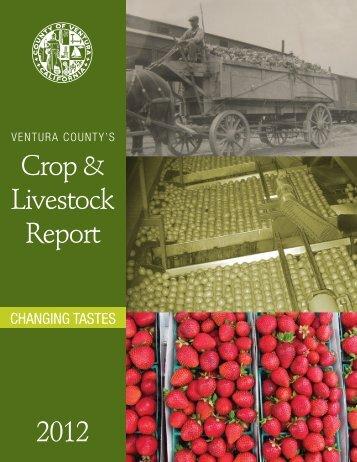Crop & Livestock Report 2012 - The Farm Bureau of Ventura County