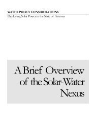 Deploying Solar Power in the State of Arizona - Circle of Blue