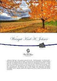 Weingut Karl H. Johner - winogrono.de