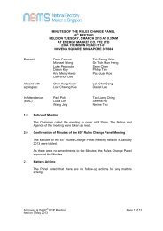 MINUTES OF THE RULES CHANGE PANEL 66th MEETING ... - EMC