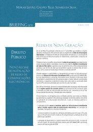Redes de Nova Geração Direito Público - Morais Leitão, Galvão ...
