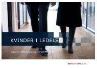 KVINDER I LEDELSE - Bech-Bruun