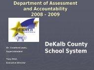 Students - Dekalb County School System